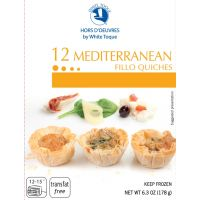 Mediterranean Fillo Quiches