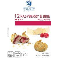 Raspberry & Brie Fillo Puffs