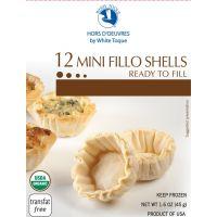 Organic Fillo Shells