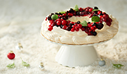 Red Fruits Pavlova