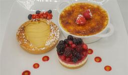 3 Desserts Plate