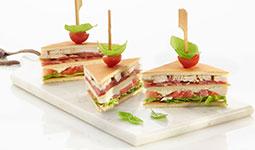 Club Sandwich with Sponge Sheet