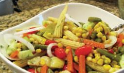 Salad Flamenade