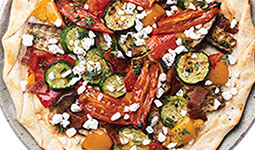 Grilled Vegetable Flammekueche