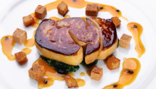Foie Gras Escalopes