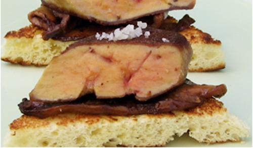 Foie Gras & Porcini on Brioche