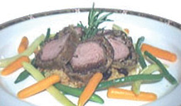 Lamb in a Crust of Forest Mushrooms